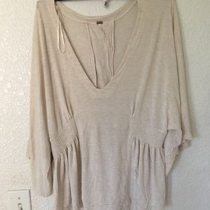 Free People Loose Fitting Top